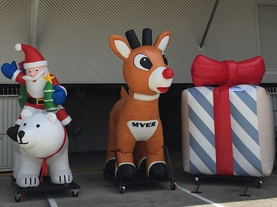 Christmas Inflatable Parade Floats