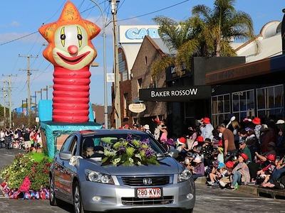 Jack in the box Flower  Parade Inflatable